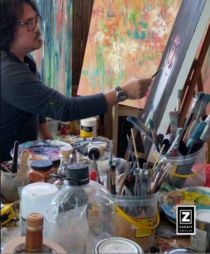 Artist Profile Painting 2020.01