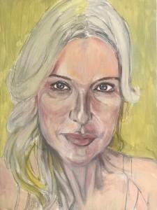 Polvere De Stelle 2019 Oils/Canvass 355 x 406 mm