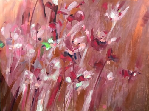 """""""Serenely You, Serenely Me; To Be With - Or Not To"""" 900 x 1200 x 35 mm Oils on Canvass; Price $3,600"""